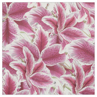 Stargazer Lilly Fabric
