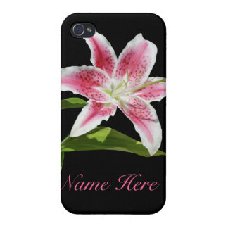Stargazer Lily iPhone 4 Cover