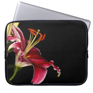 Stargazer Lily Laptop Sleeve