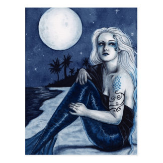 Stargazer Mermaid Postcard