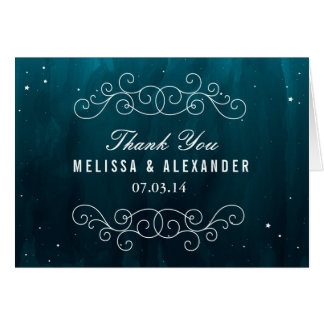 Stargazer Thank You Card