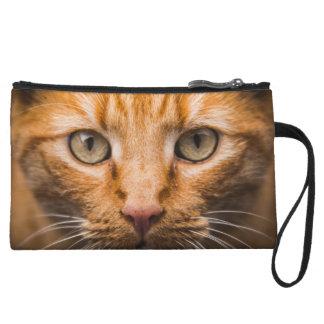 Staring Cat mini clutch bag Wristlet Purse