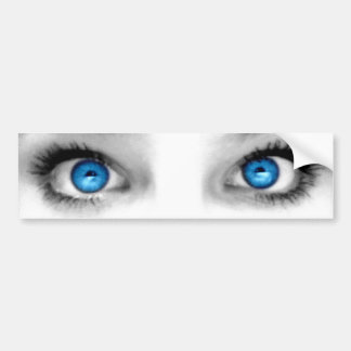Staring Eyes Bumper Sticker