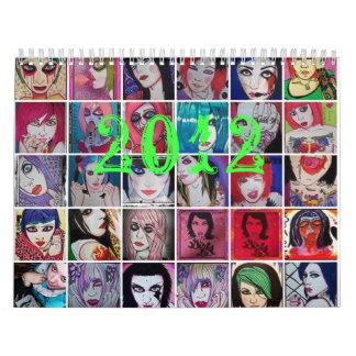 Starla art 2012 calendar