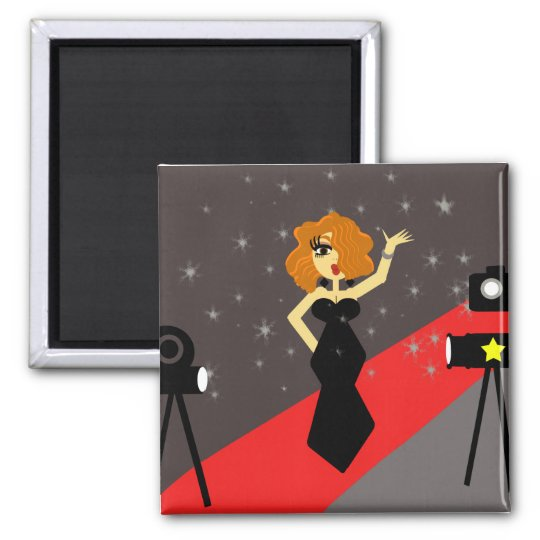Starlet Hollywood Diva Magnet