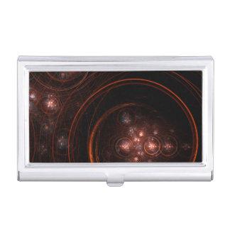 Starlight Abstract Art Business Card Holder