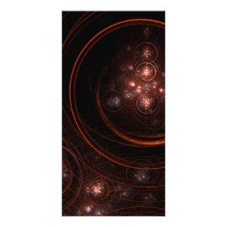 Starlight Abstract Art Photo Card