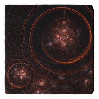 Starlight Abstract Art Stone Trivet