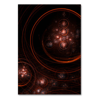 Starlight Abstract Art Table Card