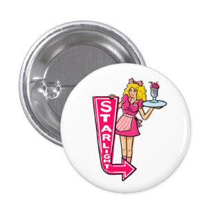 Starlight Diner Waitress Button