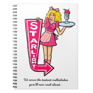 Starlight Diner Waitress Notebook