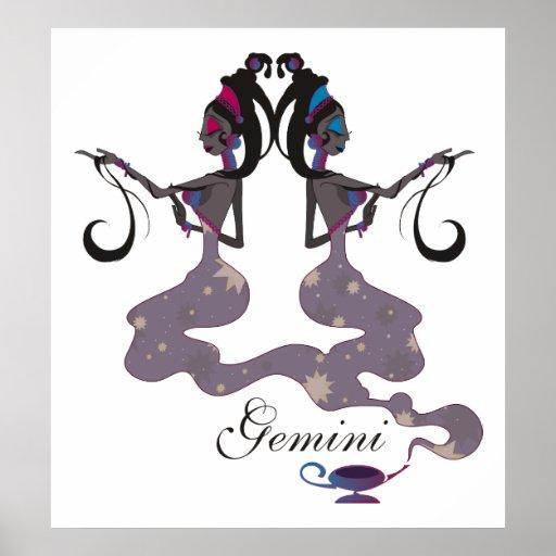 Starlight Gemini Print