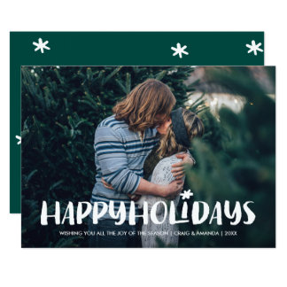 Starlight Holiday Photo Card