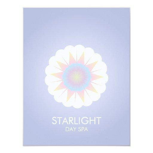 STARLIGHT SPA 11 CM X 14 CM INVITATION CARD
