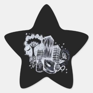 Starlight Star Sticker