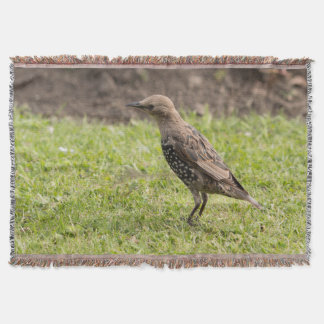 Starling Throw Blanket