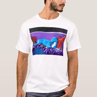 'Starlit lurcher' T-Shirt