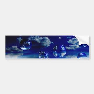 Starlit sky bumper stickers
