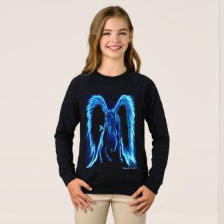 Starlit Stroll Pegasus Kid's Sweatshirt