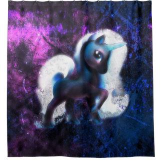 Starmist Unicorn Shower Curtain