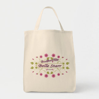 Starr ~ Belle Starr ~ Famous American Women Tote Bags