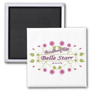 Starr ~ Belle Starr ~ Famous American Women Square Magnet