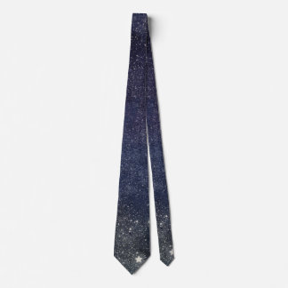 Starry Blue Sky Tie