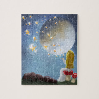 Starry Bubbles by Sannel Larson Puzzle