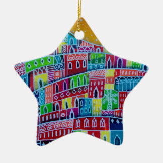 Starry City Ceramic Star Decoration