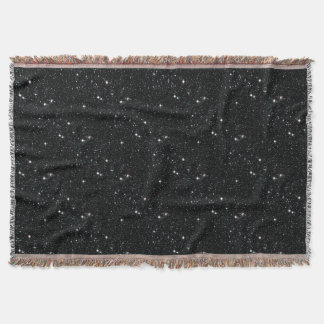 STARRY EXPANSE an outer space design Throw Blanket