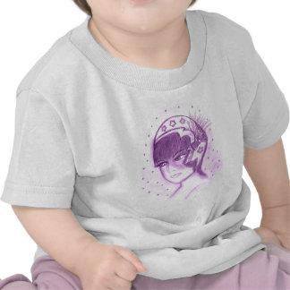 Starry Flapper in Purple T Shirt