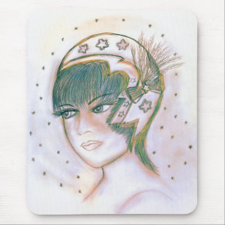 Starry Flapper Twisted Mouse Pad