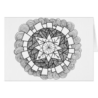 Starry Flower Greeting Cards