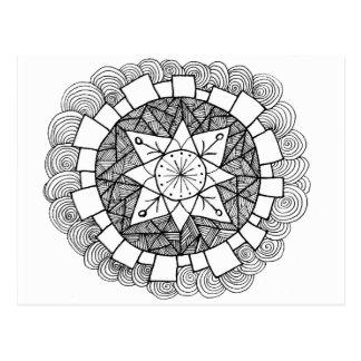 Starry Flower Post Card