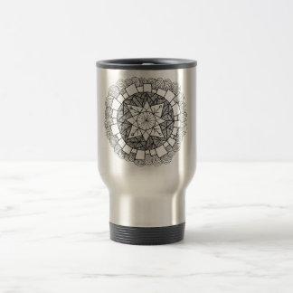 Starry Flower Stainless Steel Travel Mug