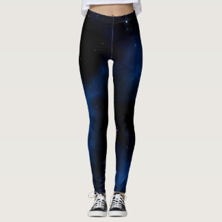 Starry Galaxy Pattern Leggings
