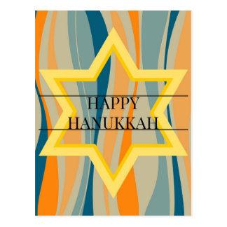 Starry Hanukkah Postcard