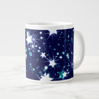 Starry Holiday Large Coffee Mug