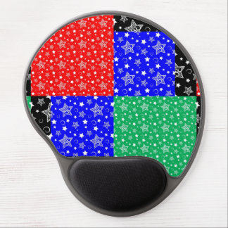 Starry Holiday Night Gel Mouse Mat