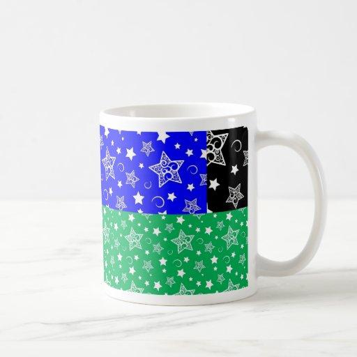 Starry Holiday Night Mugs