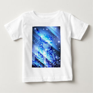 starry indian maiden.jpg tee shirts