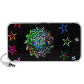 starry iPod speakers