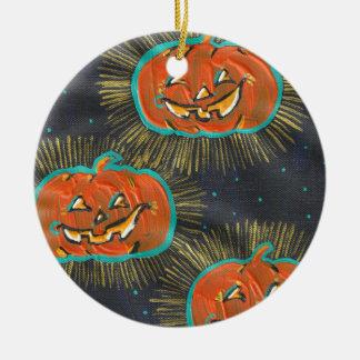 Starry Jacks Halloween Ornament