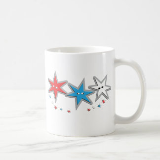 Starry Looks - A Patriotic Trio Coffee Mug