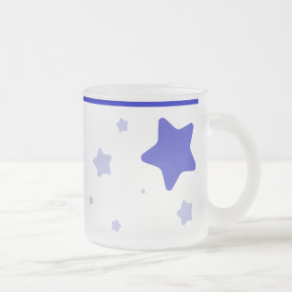 Starry Mug with Collar - Blue