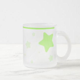 Starry Mug with Collar - Bright Green