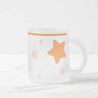 Starry Mug with Collar - Orange
