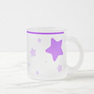 Starry Mug with Collar - Purple