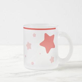 Starry Mug with Collar - Red