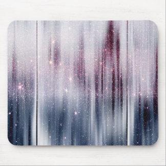 Starry Nebula Glitter Mouse Mat